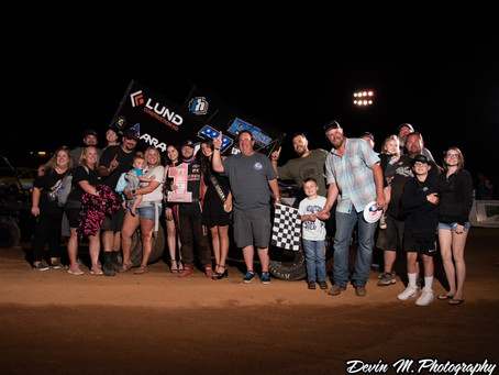 Justyn Cox Scores SCCT Triumph During 30th Dave Bradway, Jr Memorial at Placerville Speedway