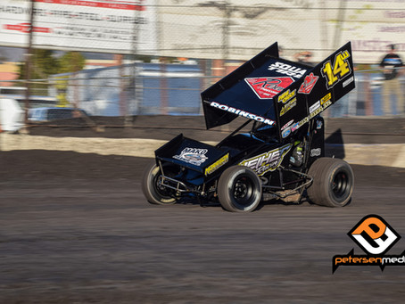 Ryan Robinson Nets First Career Sprint Car Challenge Tour Win as He Closes in on Series Championship