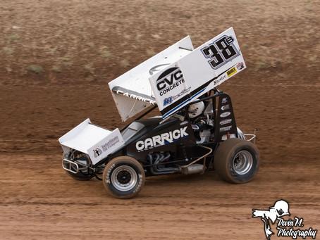 Blake Carrick 2nd at Placerville Speedway