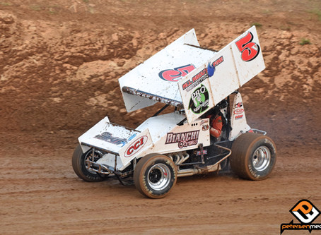 'The Shark' 12th During Placerville Speedway Sprint Car Finale