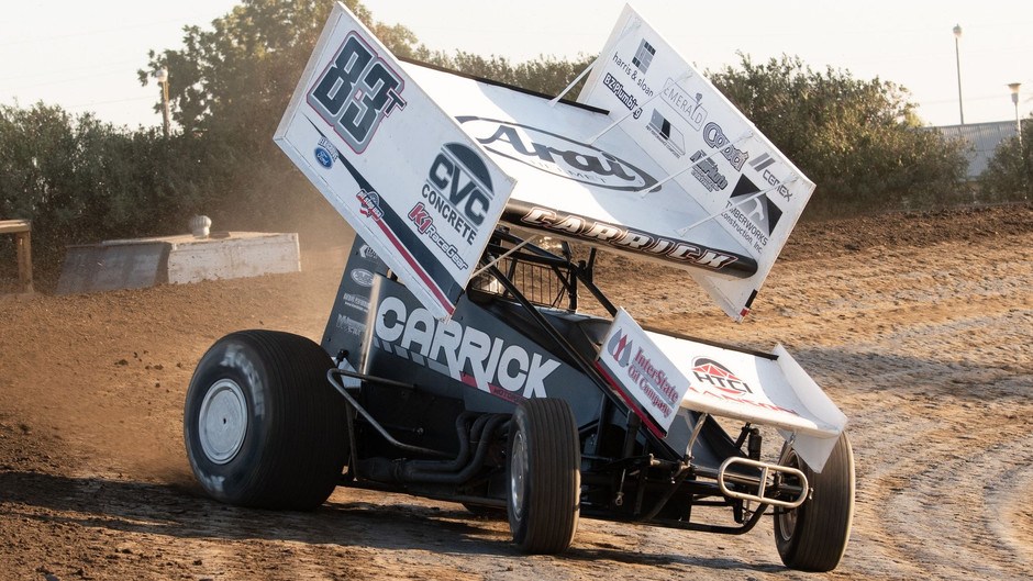 Third at Stockton Dirt Track Highlights Three-Race KWS Run for Tanner Carrick