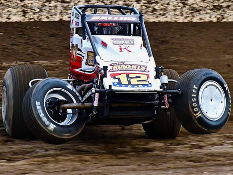 Grandview Podium Highlights Four Race Stretch of Top-10's for Robert Ballou