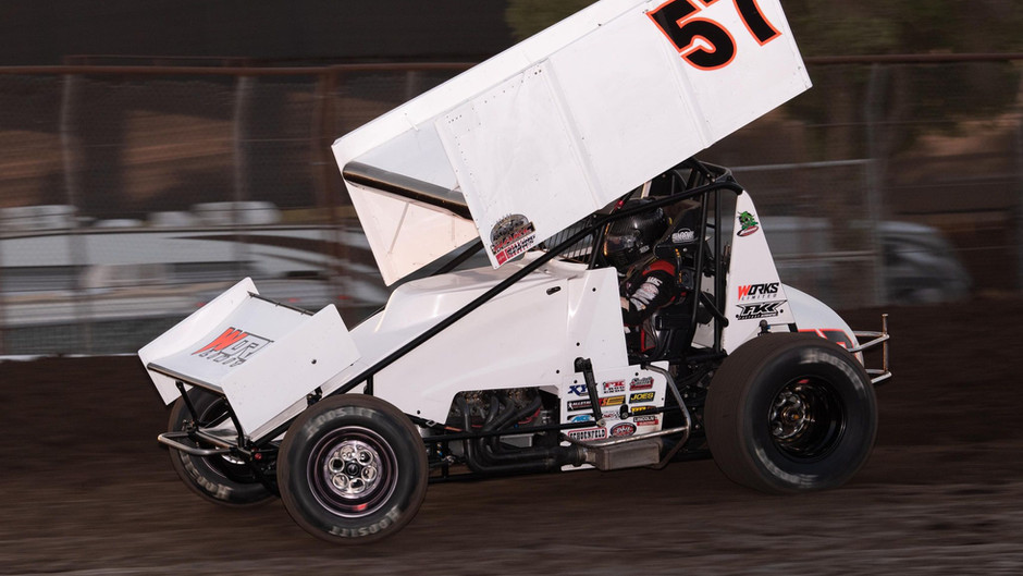 Justin Sanders Third with KWS Aboard Works Limited No. 57