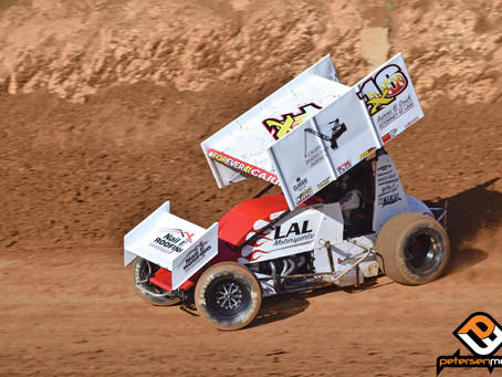 Andy Gregg Bounces Back from Tough Start to Finish 14th Saturday Night