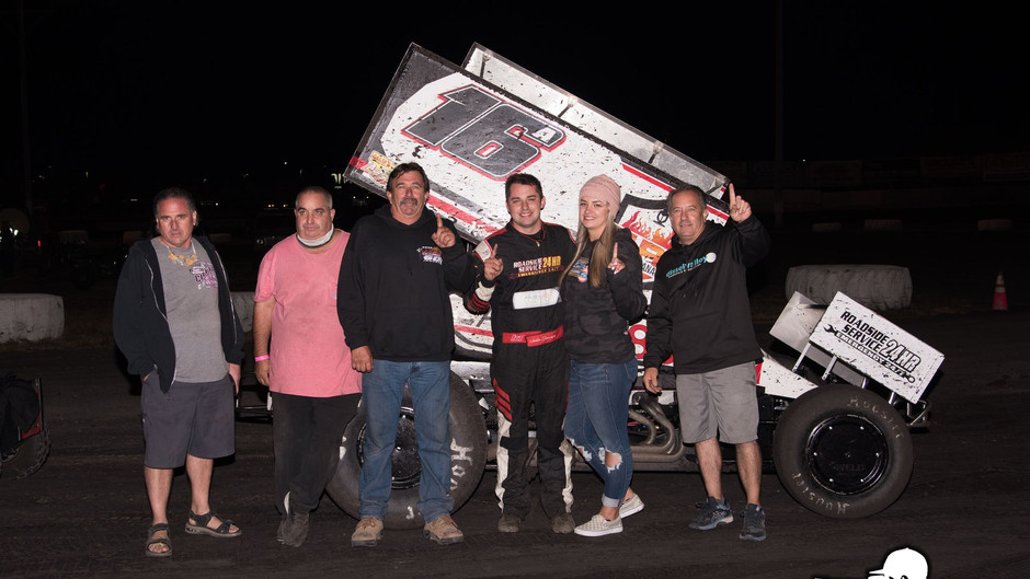 Justin Sanders and Antaya Motorsports Score 2nd Win Together in 2020