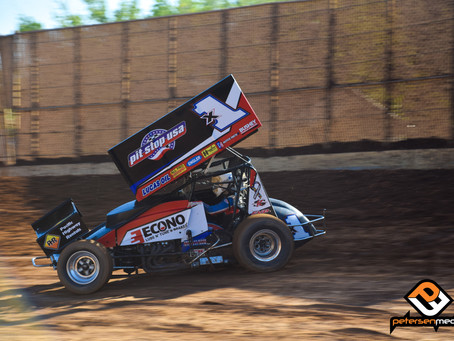 Forsberg Rallies for 10th Place Finish at Placerville Speedway