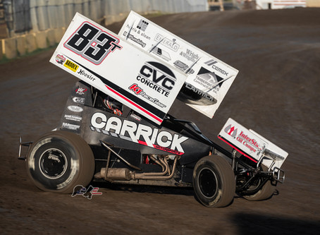 Tanner Carrick Picks Up Pair of Podiums