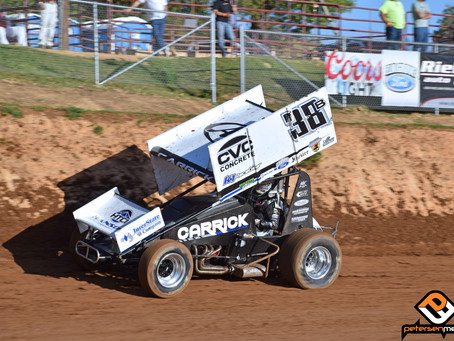 Pair of Third Place Finishes Highlight Weekend for Blake Carrick