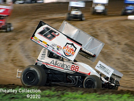 Justin Sanders Powers to Seventh Place Finish with Lucas Oil ASCS National Tour