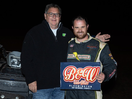 Ballou Charges To A Pair of USAC Top-10's