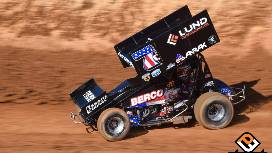 Justyn Cox Charges Through Field for Eighth Place Finish