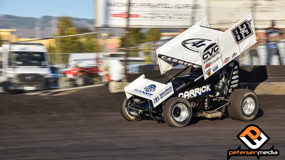 Blake Carrick 5th at Petaluma Speedway