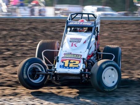 Robert Ballou Surges to 2nd at Gas City I-69 Speedway