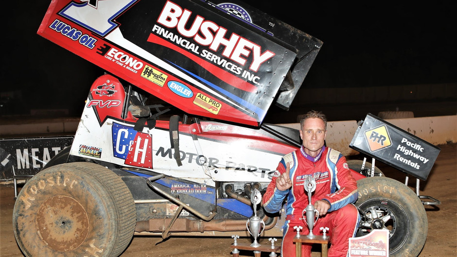 Forsberg Forges Way to First Placerville Speedway Win of Season During Legends Night
