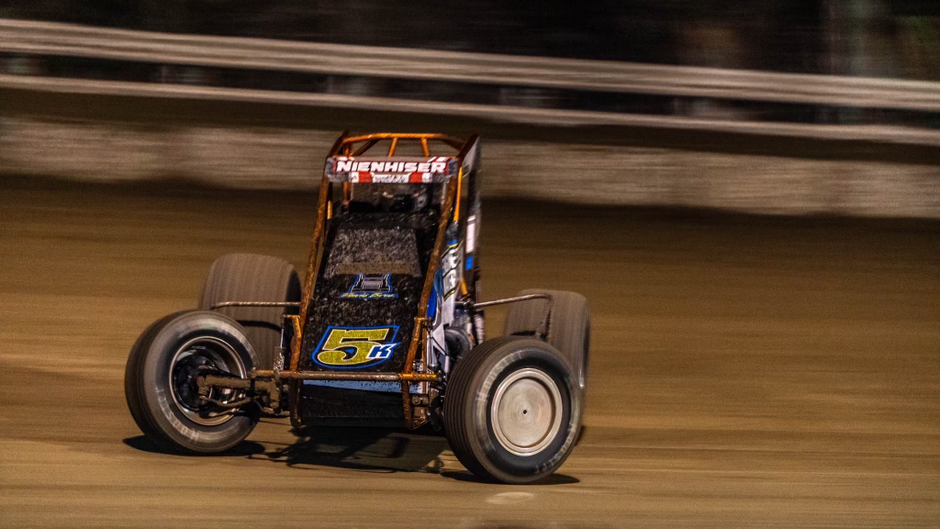 Paul Nienhiser Kicks Rookie Campaign with USAC National Sprint Car Series Off in Florida