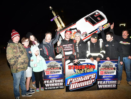 Sanders Sensational at Stockton Dirt Track's Tribute to GP