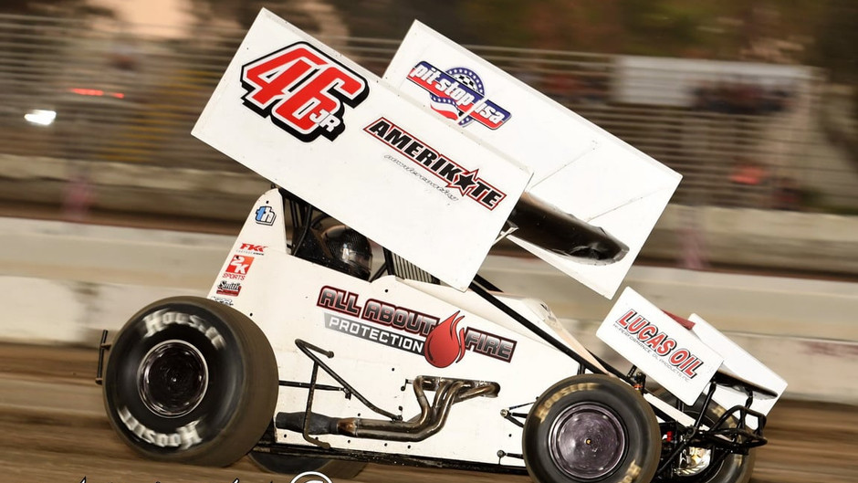 Joel Myers Jr 11th with King of the West Series in Hanford, CA