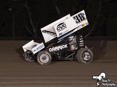Carrick Nets Keller Auto Speedway Top-10
