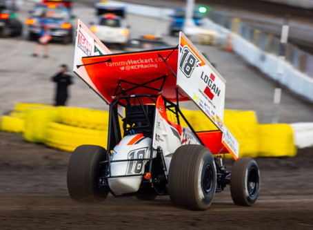 Madsen and KCP Racing Record Two Top-10's During July 4th Spectacular at Cedar Lake Speedway