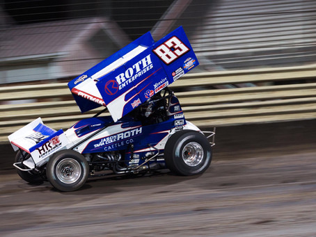 Daryn Pittman 4th in Knoxville, IA with Roth Motorsports