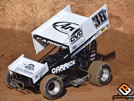 Blake Carrick Second at Marysville Raceway