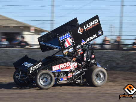 Cox Secures Sprint Car Challenge Tour Top-10 as Point Chase Tightens