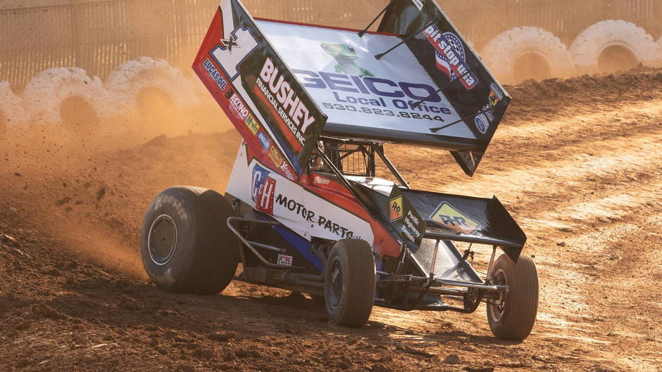 Andy Forsberg and F&F Racing Seventh at Placerville Speedway's Sunday Funday