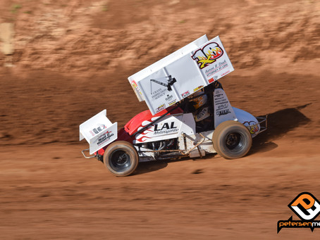 Gregg Garners Top-10 at Placerville Speedway's Kings Meats Night