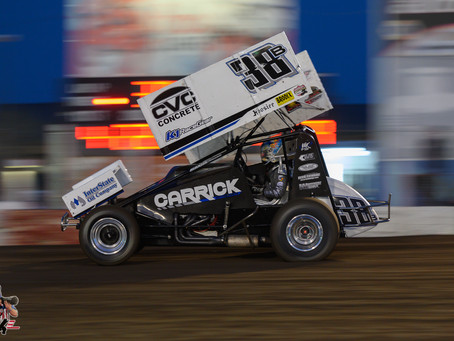 Blake Carrick Charges to Third Place Finish at Silver Cup