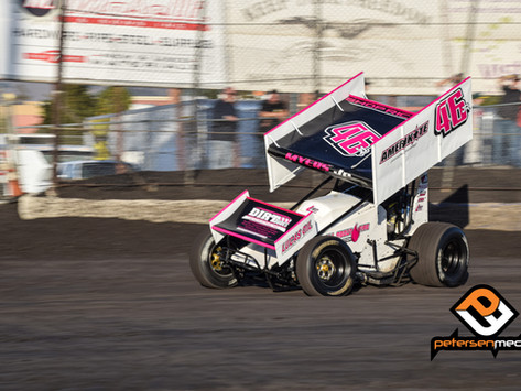 Joel Myers Jr Sixth During Appearance at Home Track