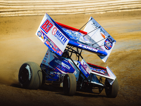 Aaron Reutzel Pockets Pair of Top-10's During World of Outlaws Season Opening Event