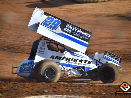 Croft Cruises to Second at Placerville Speedway