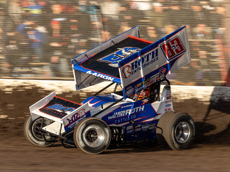 Reutzel Fourth with World of Outlaws at Granite City Speedway as Series Heads to Knoxville