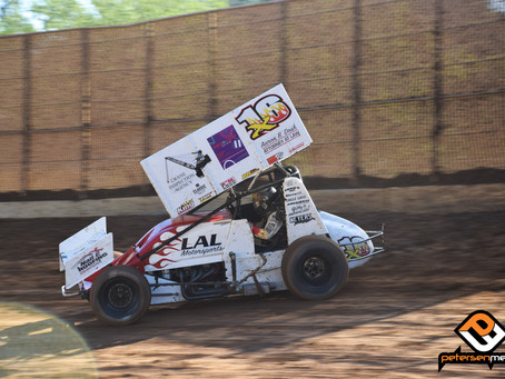 Andy Gregg 4th at Placerville Speedway's Carnett Clash
