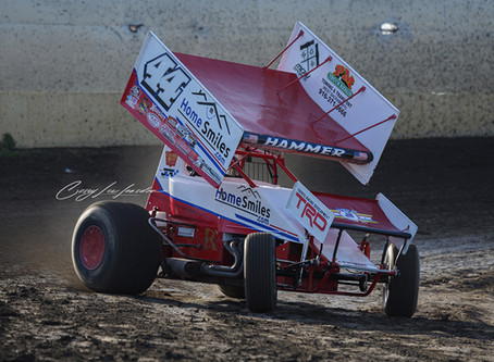 Jesse Love 5th at Marysville Raceway