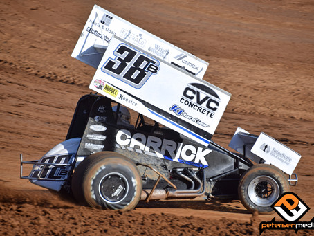 Blake Carrick Records Trio of Top-5 Finishes