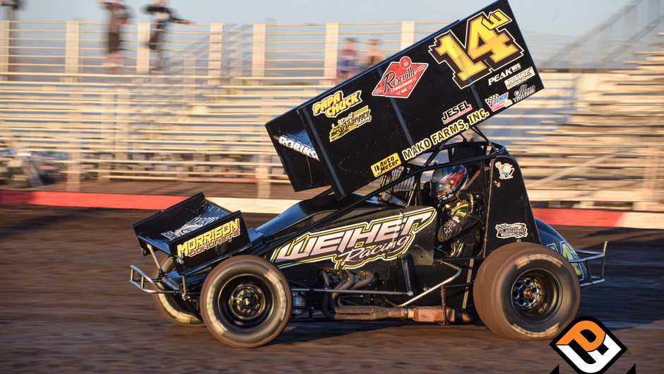 Ryan Robinson Sixth at Fall Nationals Opener Before Wreck Ends Run in Finale