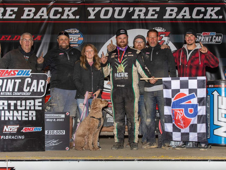 Ballou Back in Victory Lane with USAC