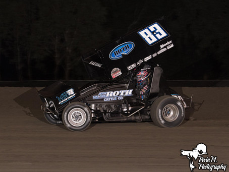 TK Express Rolls to Third Place Finish at Keller Auto Speedway