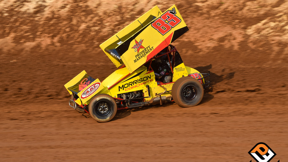 Sean Becker Rebounds for 7th Place Finish at Legends Night