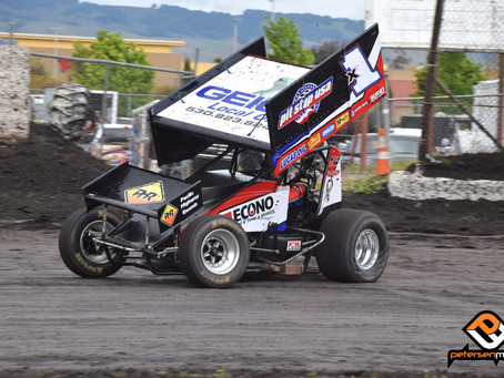Forsberg Romps to Second Place Finish in Hard Charger Effort at Petaluma Speedway