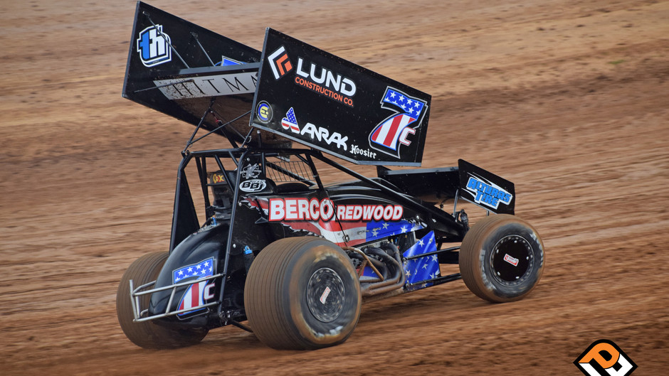 Opening Lap Incident Hampers Justyn Cox at Placerville Speedway