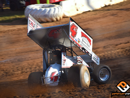 Justin Sanders Surges to Third Place Finish at Placerville Speedway