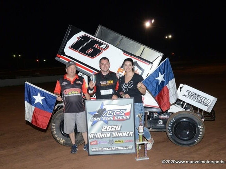 Justin Sanders and Antaya Motorsports Score with ASCS Lone Star Region