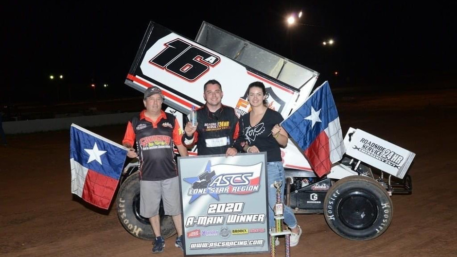 Justin Sanders and Antaya Motorsports Score with ASCS Lone Star Region