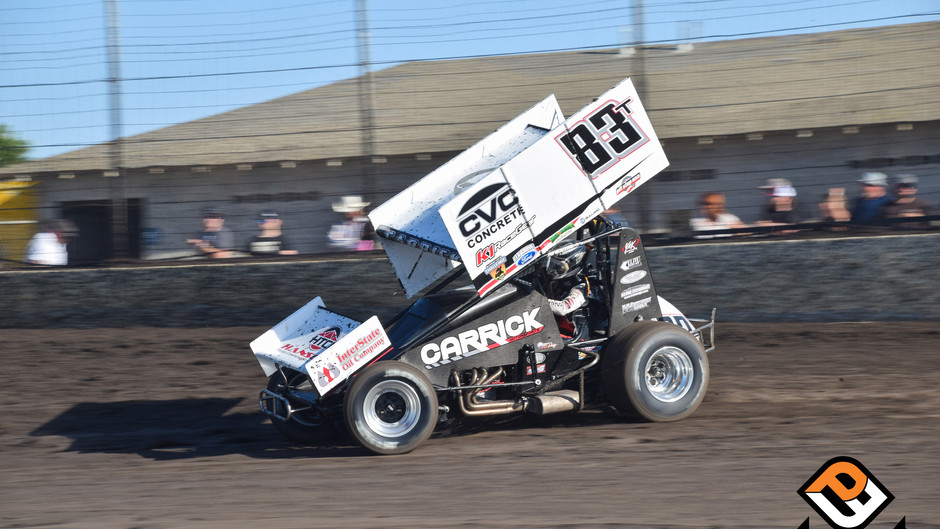 Tanner Carrick Hangs on To Finish 11th with Sprint Car Challenge Tour
