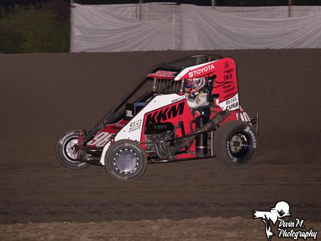Second Place Run at Midget Madness Opener Highlights Three-Race Week for Tanner Carrick and KKM