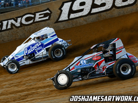 Nienhiser Nets USAC Top-10 at Plymouth Speedway