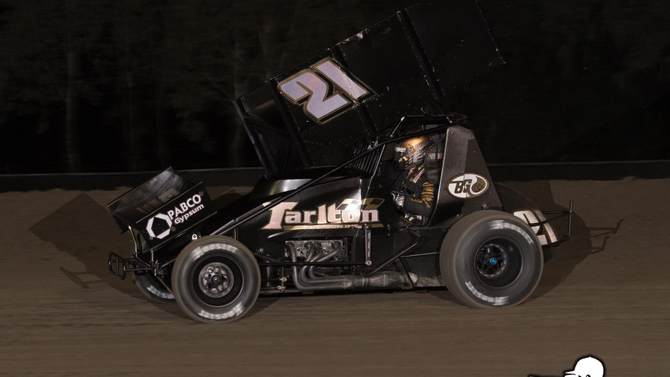 Macedo Runs Second in Rare Appearance at Keller Auto Speedway