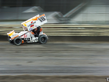 Ian Madsen and KCP Racing 2nd at World of Outlaws Return to Racing